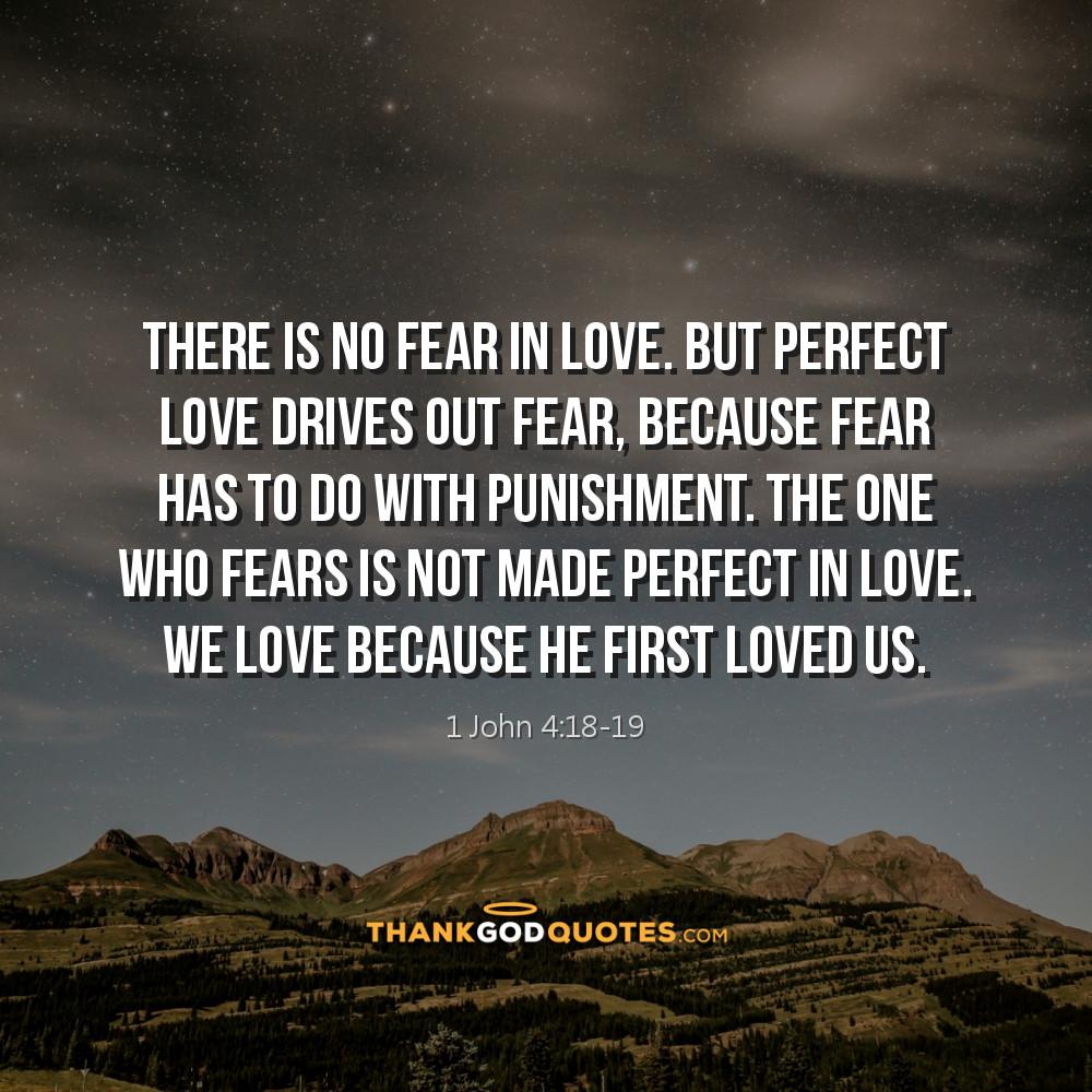 1 John 4:18-19