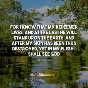 Job 19:25-25