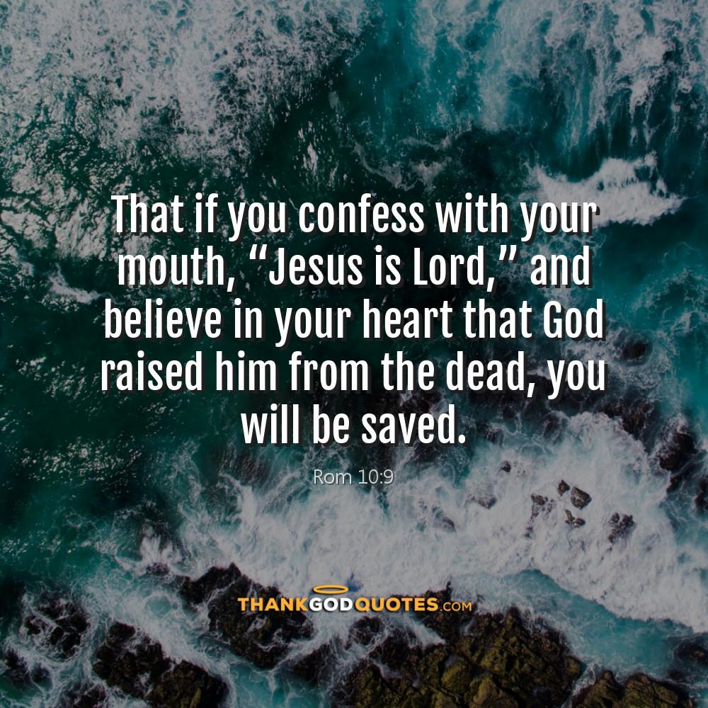 Rom 10:9