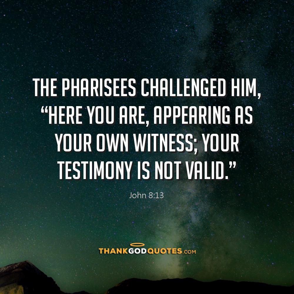 John 8:13
