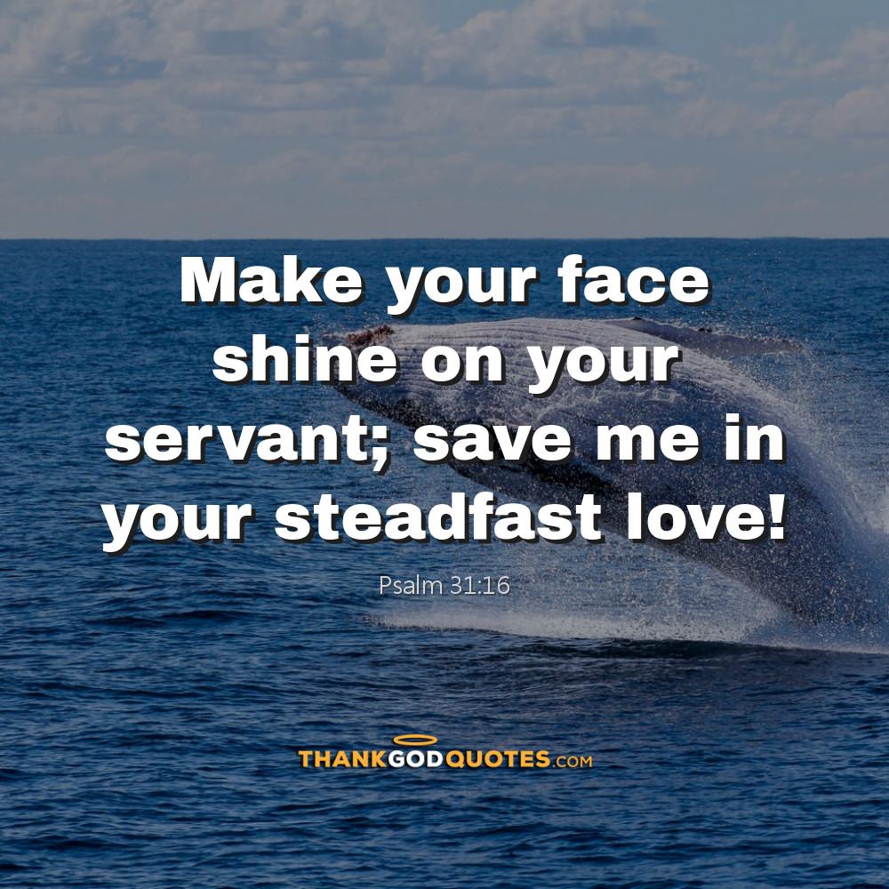 Psalm 31:16