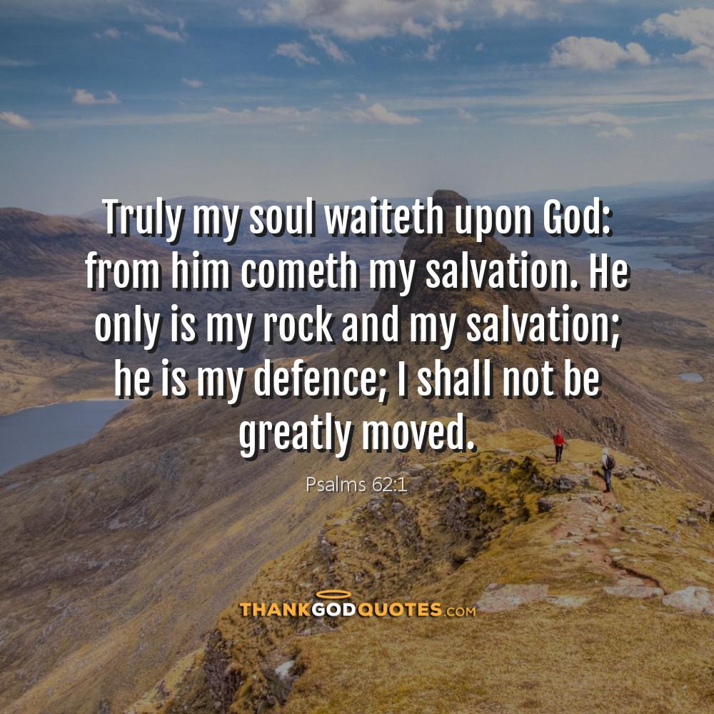 Psalms 62:1