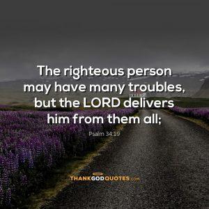 Psalm 34:19