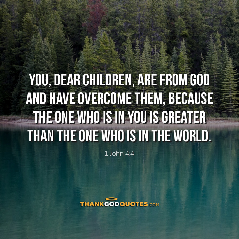1 John 4:4