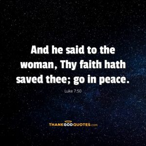 Luke 7:50