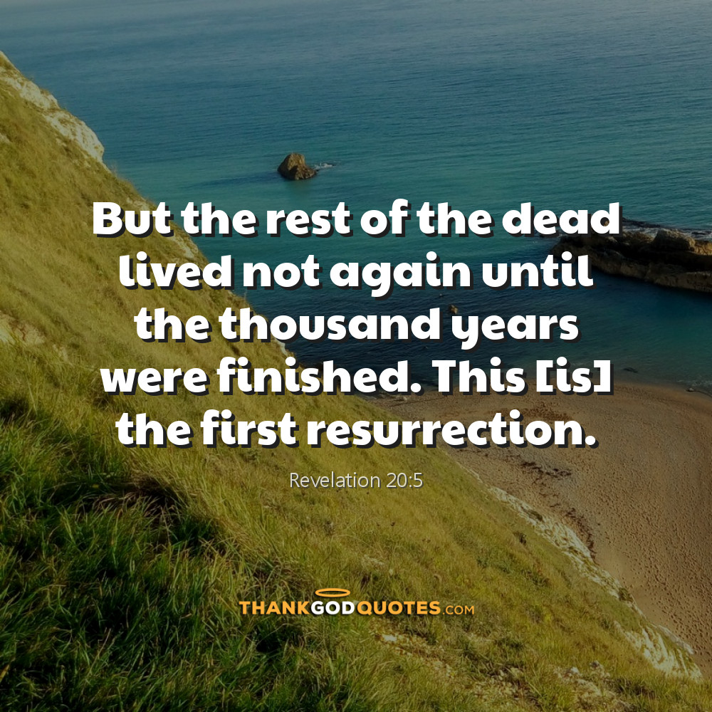 Revelation 20:5