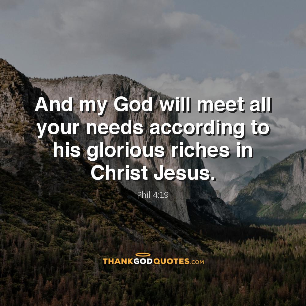 Phil 4:19