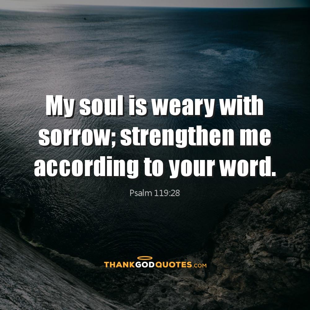 Psalm 119:28