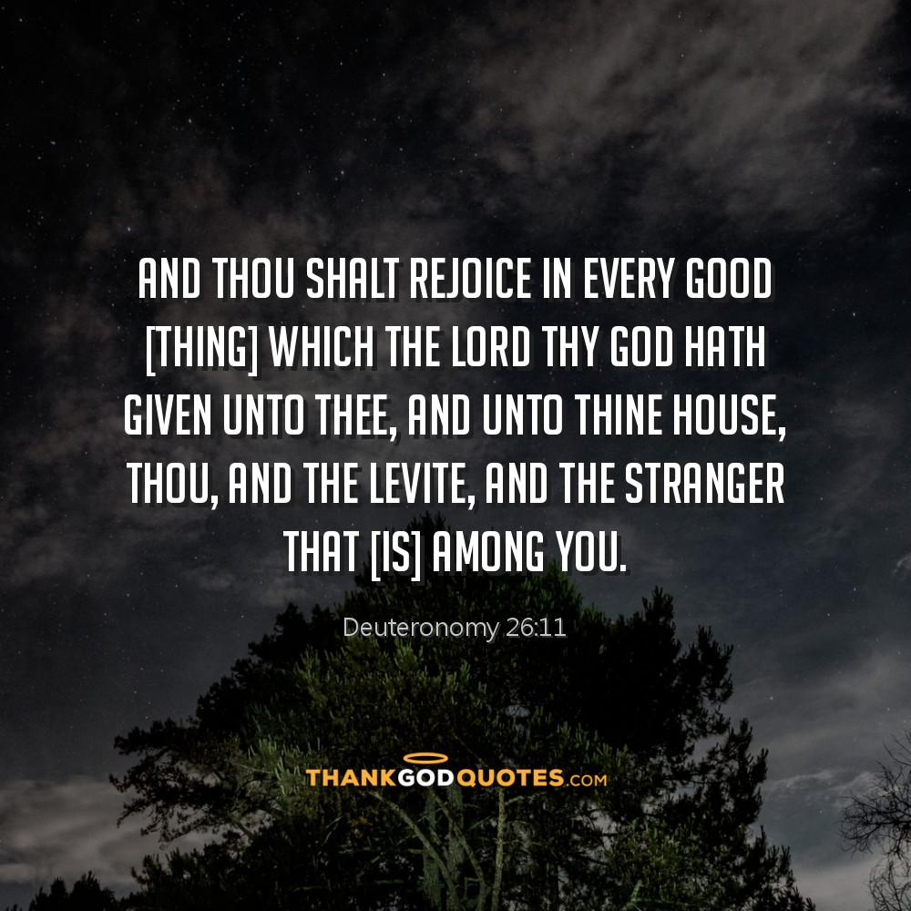 Deuteronomy 26:11