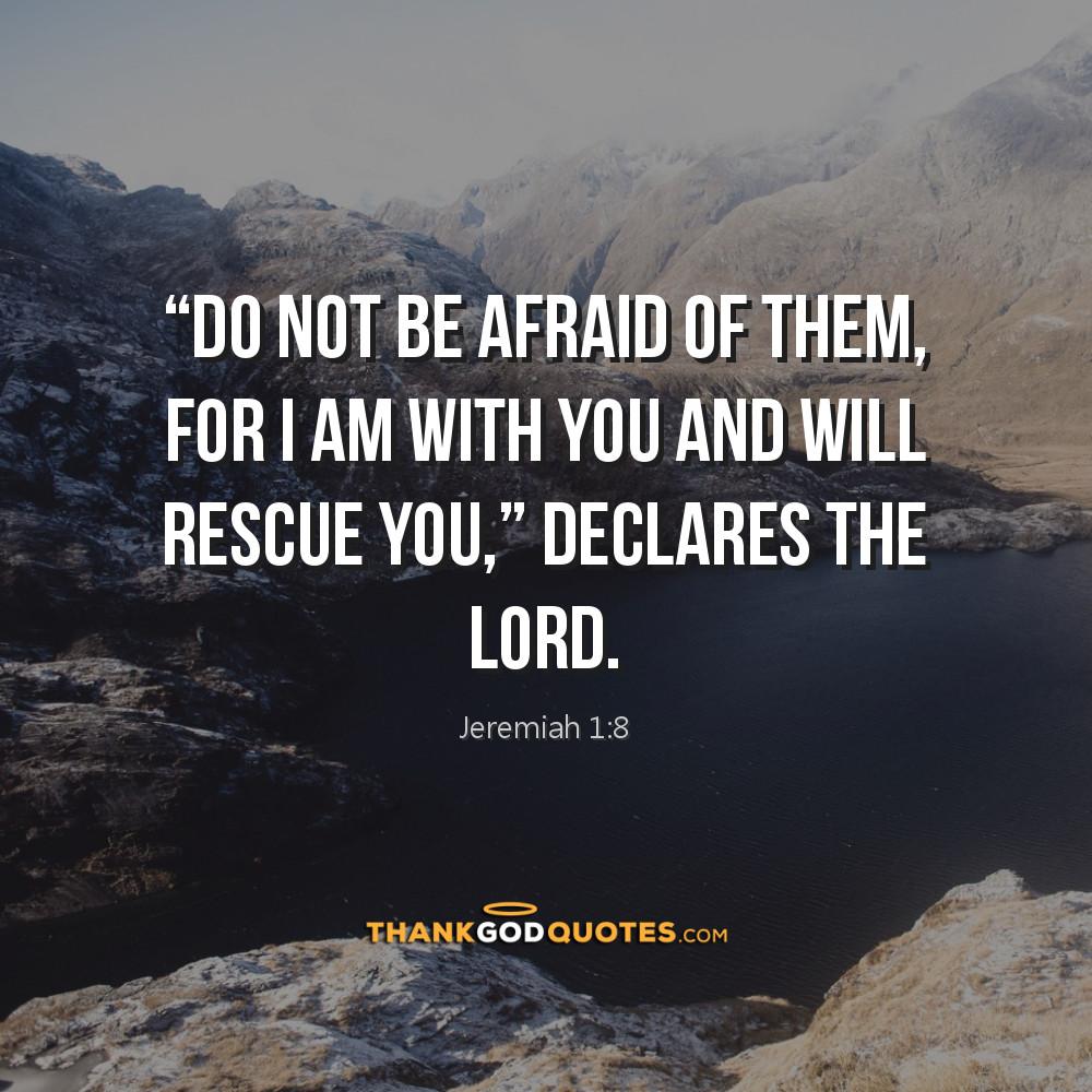 Jeremiah 1:8
