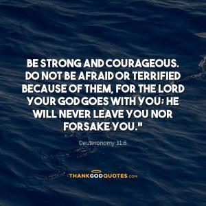 Deuteronomy 31:6