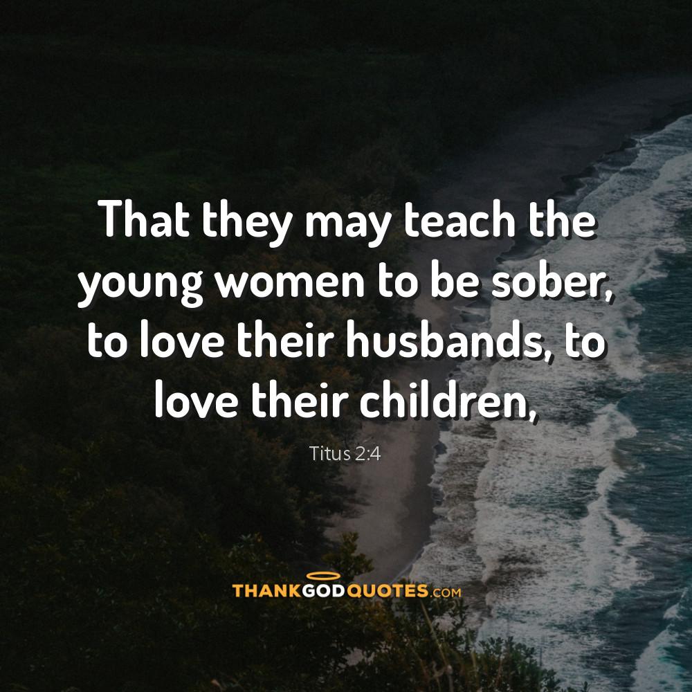Titus 2:4
