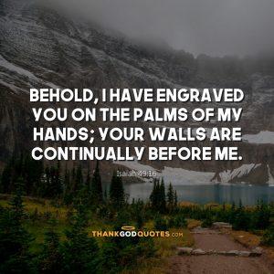Isaiah 49:16