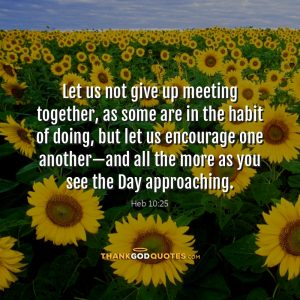 Heb 10:25