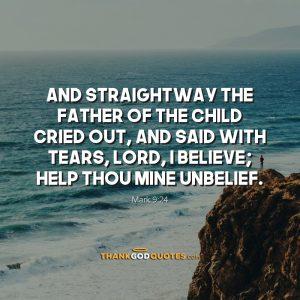 Mark 9:24