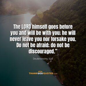 Deuteronomy 31:8