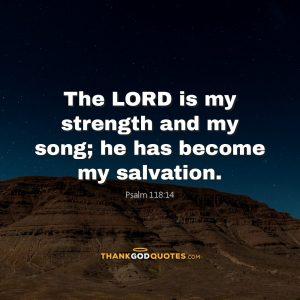 Psalm 118:14