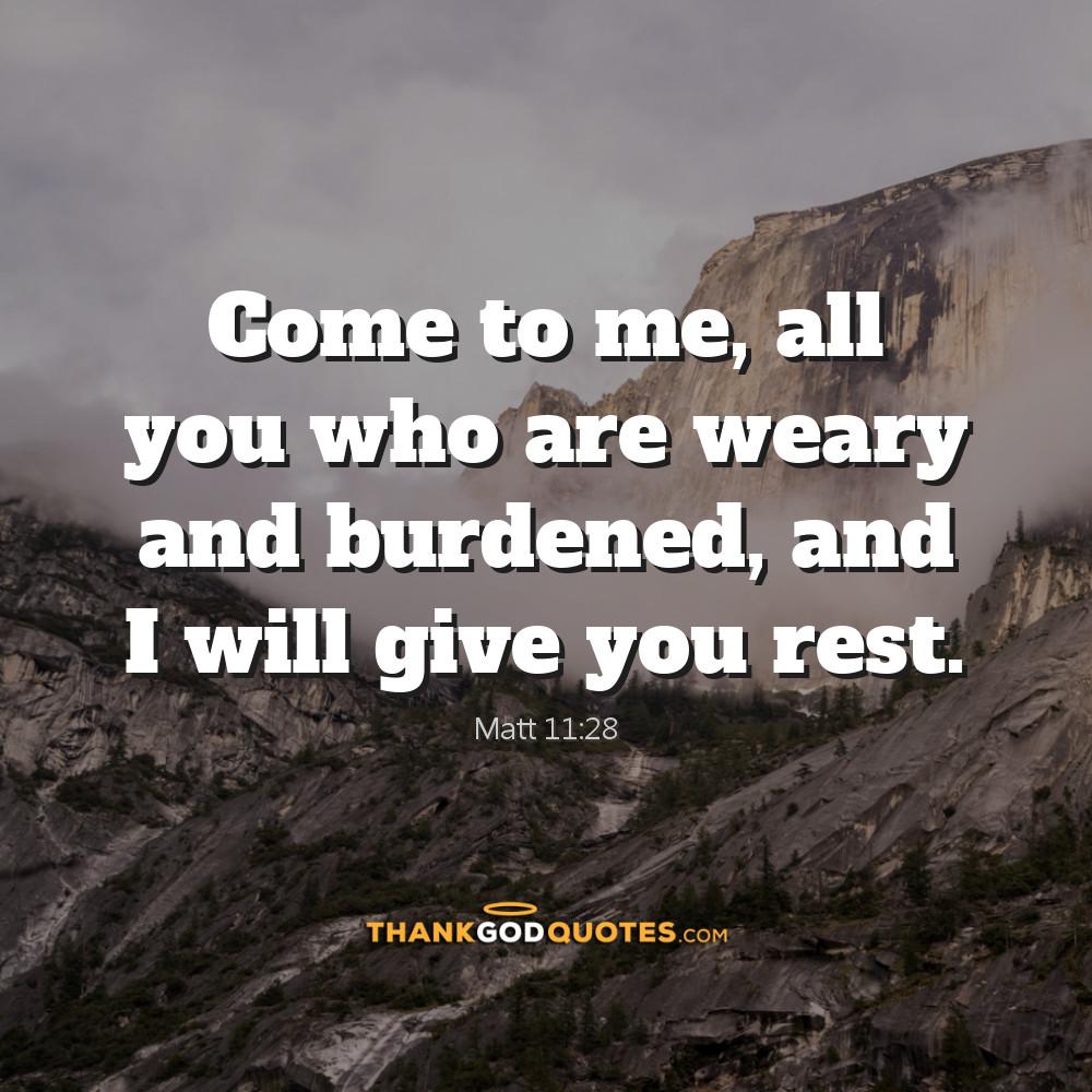 Matt 11:28