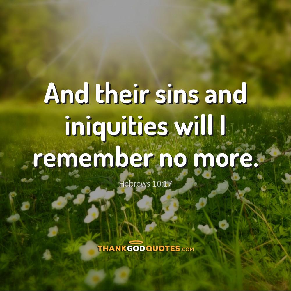 Hebrews 10:17