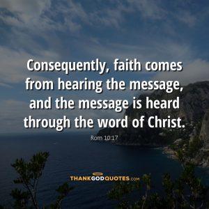 Rom 10:17