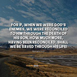 Romans 5:10
