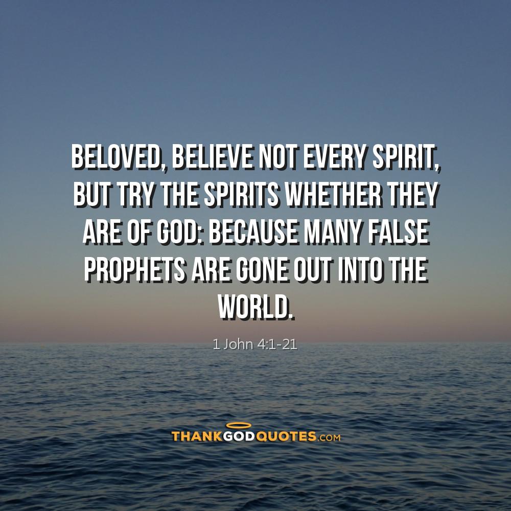 1 John 4:1-21