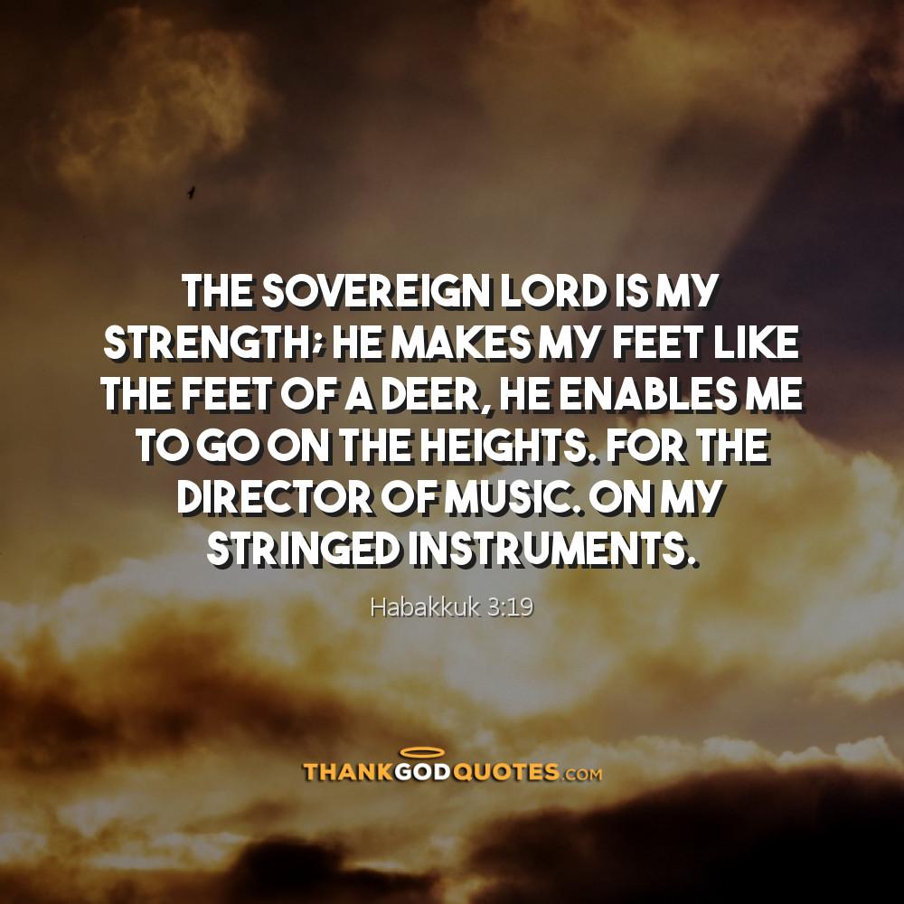 Habakkuk 3:19