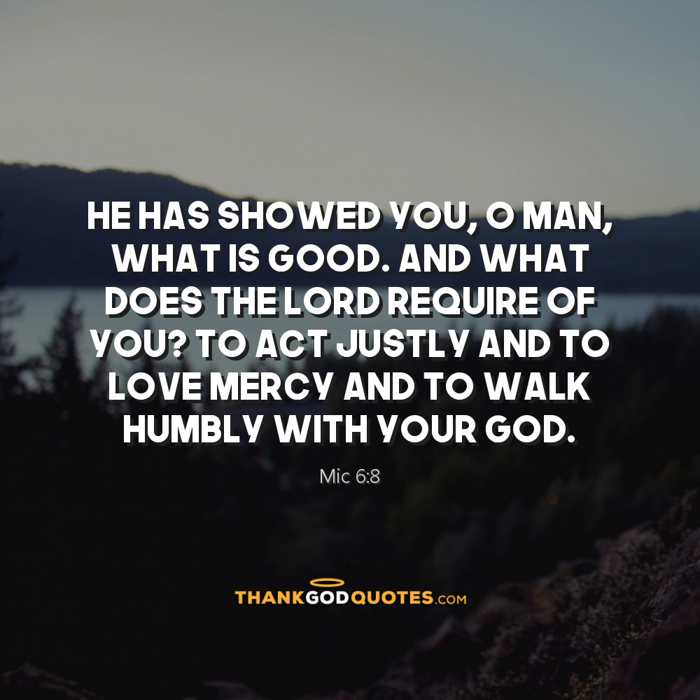 Mic 6:8