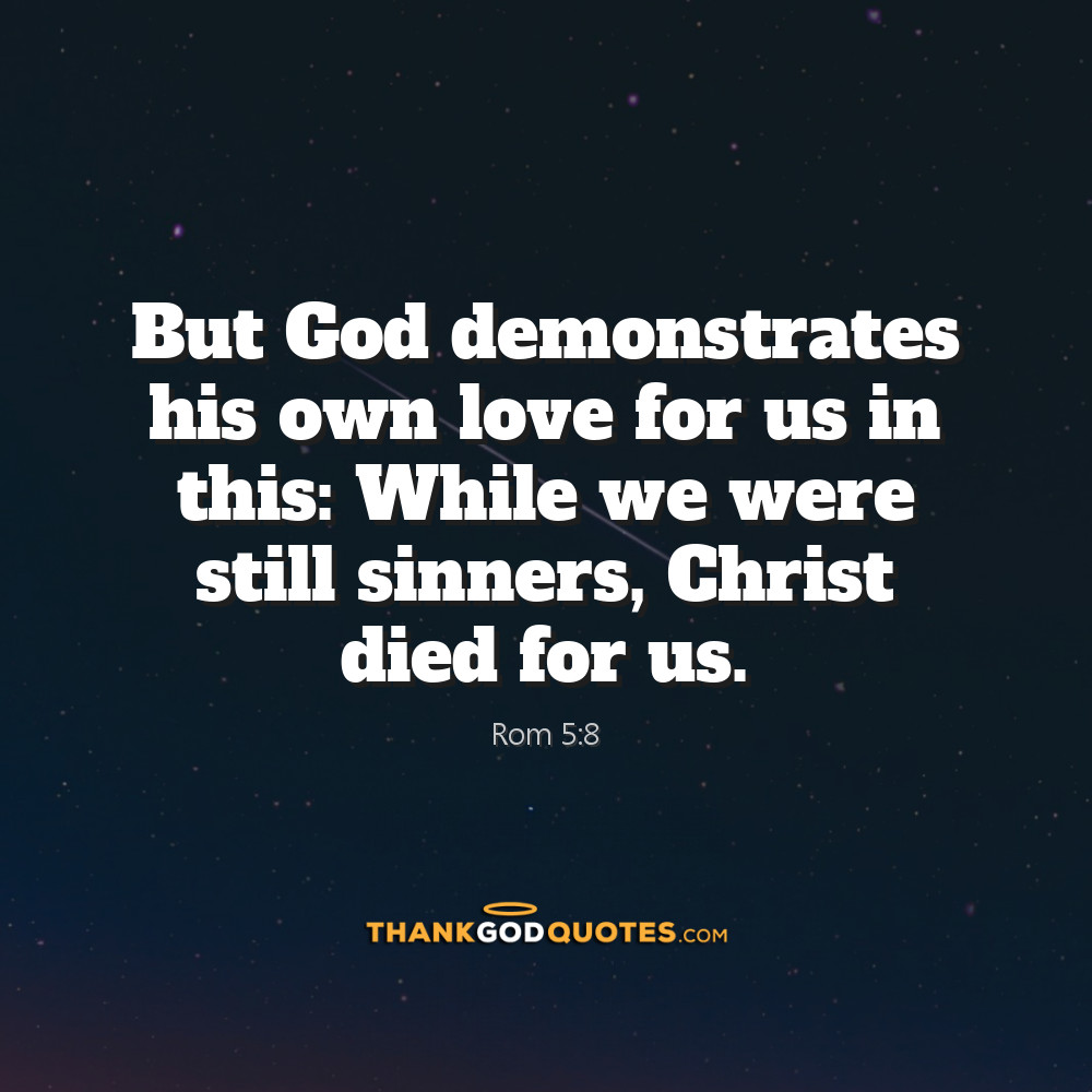Rom 5:8