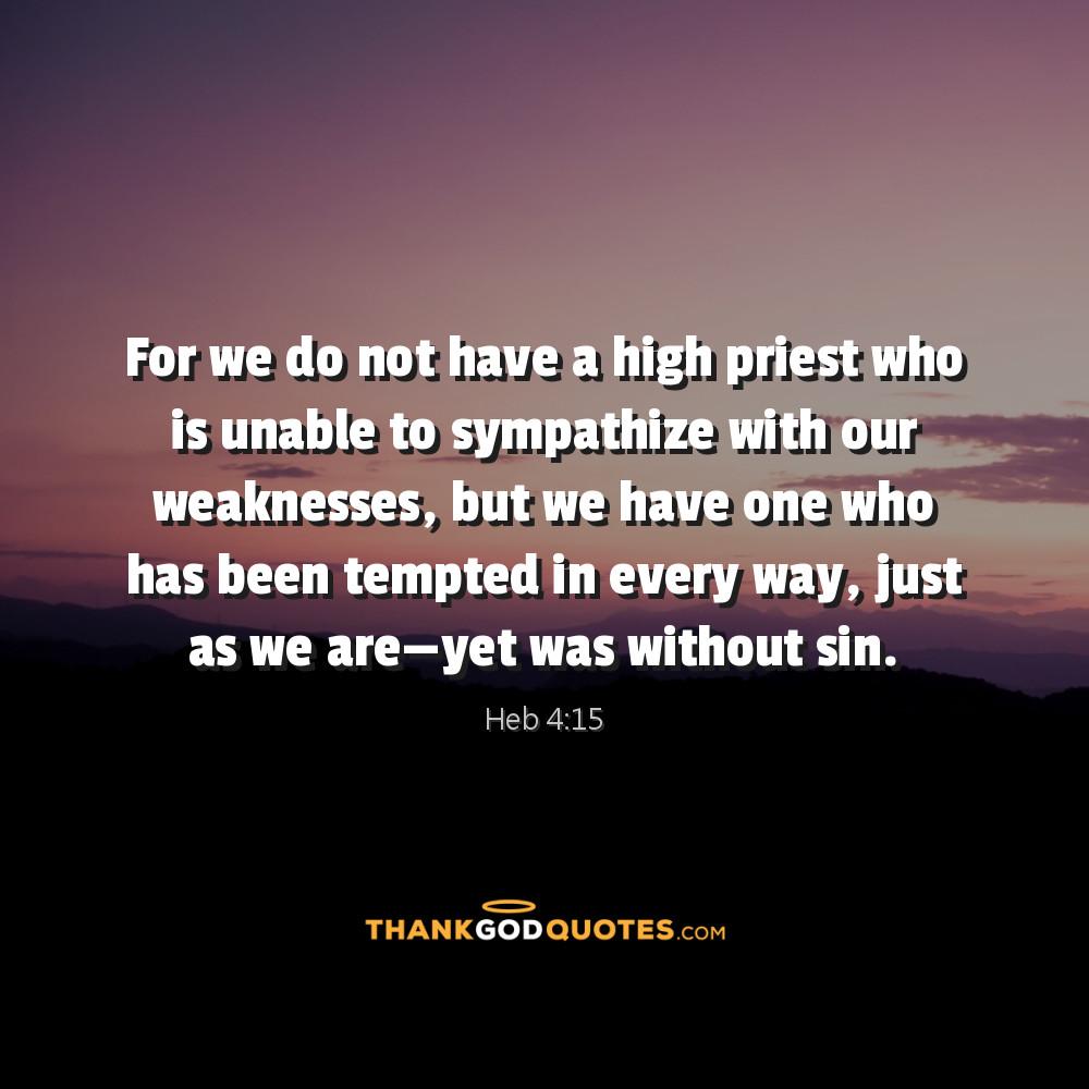 Heb 4:15
